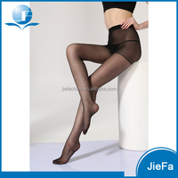 wholesale cheap customized Women's transparent toes sexy 20D high waist tights pantyhose