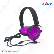 Mobile phone earphone accessories wired call center USB headset with microphone