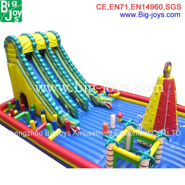 Nouveau trampoline gonflable personnalis e de la chine grande structure gon - Structure gonflable a vendre ...