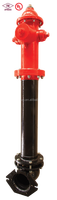 250PSI FM Approved and UL listed Fire Hydrant Dry Barrel type and used for Underground