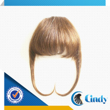 cindyhair brands good quality various kinds of 100 human virgin hair bangs