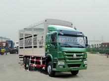 SINOTRUK ZZ1257N4341W 336HP 247 KW 6X4 animals cargo truck