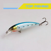 beautiful shape minnow fishing bait fishing lure hard plastic lure
