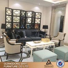 hotel sofa set in fabric or pu /sofa furniture