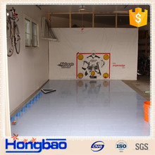 Uhmw-pe Synthetic ice hockey skate rink boards/ice rink boards manufacturer