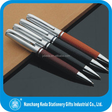 first choice Chrismas gift set roller ball pen luxury leather pens