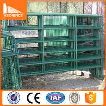 Australia Standard 6 rails heavy duty sheep fence panel / cheap metal pig fence panel for sale