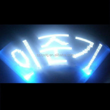 Popular custom logo printng led flashing message stick for gifts and concert