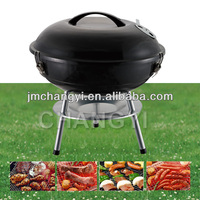 14 inch apple bbq grill with lock