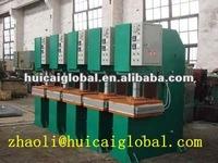 machine to make v belt/belt making machinery