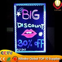 super brightness & catching eyes shops advertising panel led writing board 40*60cm 2015 new innovation