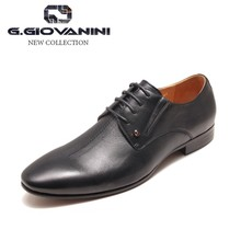 Special leather business man dress shoes elegant black mens leather sole loafers