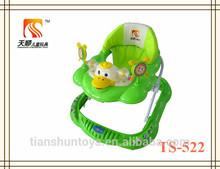tianshun modelo único de bebé walker de plástico pp bebé walker