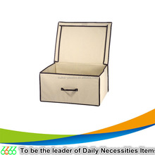 AlibabaTop selling beige color home storage box cute container for packing