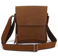 hot selling 2015 new good design man messenger bag leather bag shoulder bag