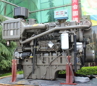 Ferry boat ECU controlled marine propulsion 600HP diesel engine