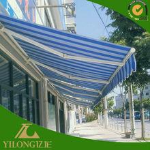 Hotsale navy blue and white stripe tarpaulin fabric
