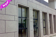 CRYSTONE natural granite stone effect house paint by spray application for exterior