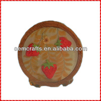 High quality resin strawberry handmade cheap napkin holders