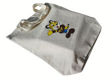 fashion 100% cotton canvas tote bags/ erode skvt cotton shopping bag/ pp woven roll