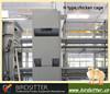 New design layer chicken breeding cages