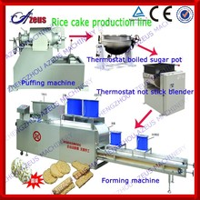 660 Industrial crisp popped cereal cake production line for snacks with competitive price