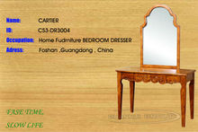 DR3004 Foshan factory stylish art decorative carved best dressing table