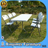 Plastic Folding Garden Table And Chair T017