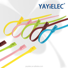 Direct selling double locking cable ties:94v-2 self-locking 4.8*300 PA66 Nylon Cable Ties (UL certificate)tensile strength:50lbs