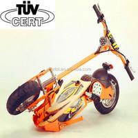 mini evo 2 wheel custom land 200cc electric bike