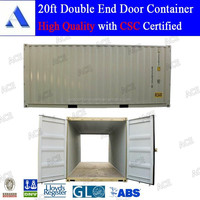 Brand new double end door shipping container in stock
