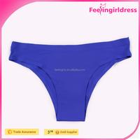Hot Sexy Dark Blue Women Thong Underwear Women Free Samples