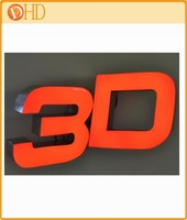 Hot sale resin plastic letters for outdoor signs