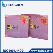 high quality flowers printing paper moon cake box