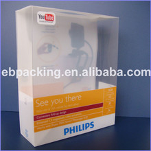 Clear ultrasonic pp plastic boxes