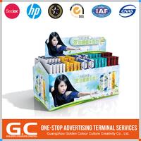 Durable Custom Printing Logo Cardboard Display Pedestals
