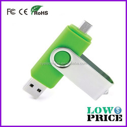 OEM wholesale OTG USB flash drive 3.0 for Smartphone and computer