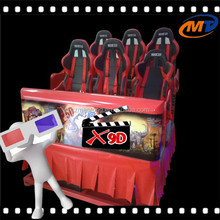 The most Exciting 5D cinema chairs cost-effective with water spray , air spray , push back, leg ticklers from chinese supplier