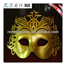 Party Plastic Funny 24k Pure Gold Face Mask
