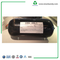 373mm 80L Type 3 CNG Aluminum Composite Cylinder for Sale