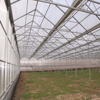 High Quality 10-year Warranty ISO Certification 100%Bayer one stop gardens greenhouse parts with UV Protection