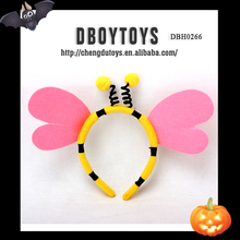 Halloween party product garment accessory decorative headwear with two wings for cospaly EN-71/6P DBH0266