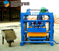 Best selling QT40-2 Small hollow block making machine philippines
