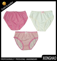 The most popular and nice pattern preteen kids underwear for young gilrs
