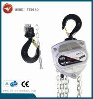 Popular stainless steel chain block chain pulley block mechanism 1 ton chain block