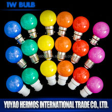 hot new products for 2015 china supplier christmas lighting 1W energy save lamp