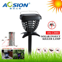 Green energy solar powered electric mosquito trap