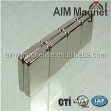 40x20x2mm block neodymium magnet dc neodymium magnet motor