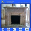 Competitive simple english white marble fireplace Wholesaler Price