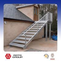 simple prefab outdoor steel stairs